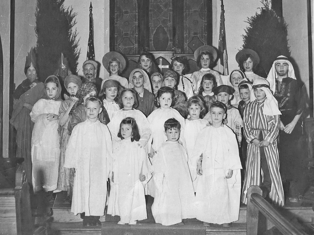 Christmas Pageant 1954